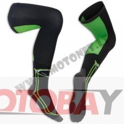 UFO Long socks , juodos spalvos