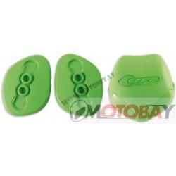 UFO Plastmasinių apsaugų keitimo rinkinys , žalios spalvos