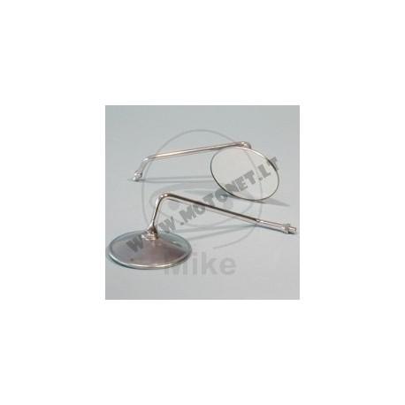 Galinio vaizdo veidrodis ZR 9181 , chromas , L dydžio