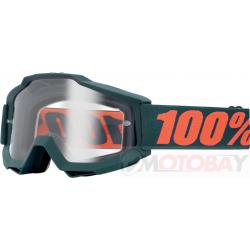 100% ACCURI MATTE GUNMETAL CLEAR
