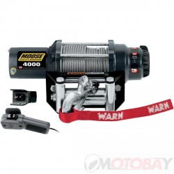 MOOSE 4000 lb winch SYNTHETIC ROPE
