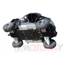 CF MOTO ZFORCE 550 EX / 800 EX ( Z5 EX / Z8 EX ) aliumininė ir plastikinė dugno apsauga keturračiui