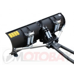 "IRON BALTIC Universal V-shaped ""V-PRO"" Snow blade (steel) 1520mm ATV"