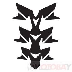 OXFORD Gel Spine Invader - Black