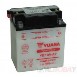 YUASA YB10A-A2 akumuliatorius