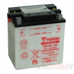 YUASA YB10L-A2 akumuliatorius