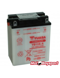 YUASA YB12A-A akumuliatorius