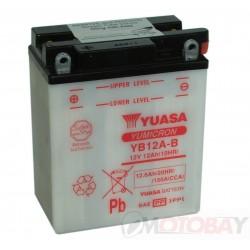 YUASA YB12A-B akumuliatorius