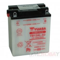 YUASA YB12AL-A2 akumuliatorius