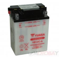 YUASA YB12C-A akumuliatorius