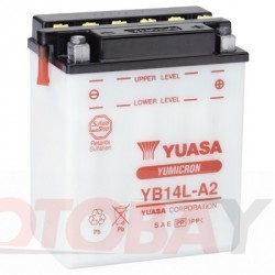 YUASA YB14-A2 akumuliatorius