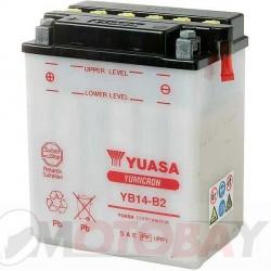 YUASA YB14-B2 akumuliatorius