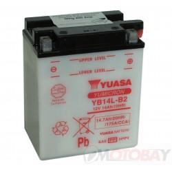 YUASA YB14L-B2 akumuliatorius