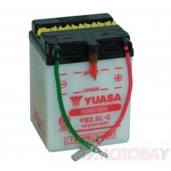 YUASA YB2,5L-C akumuliatorius