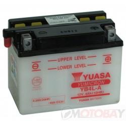 YUASA YB4L-A akumuliatorius