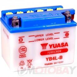 YUASA YB4L-B akumuliatorius