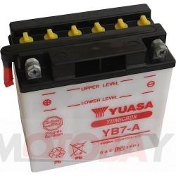 YUASA YB7-A akumuliatorius