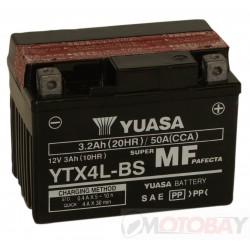YUASA YTX4L-BS akumuliatorius