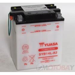 YUASA SYB14L-A2 akumuliatorius