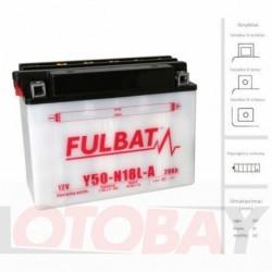 FULBAT Y50-N18L-A akumuliatorius