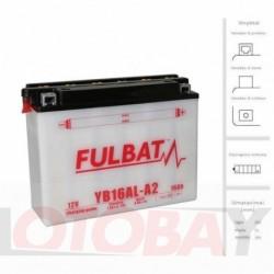 FULBAT YB16AL-A2 akumuliatorius