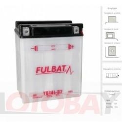 FULBAT YB14L-B2 akumuliatorius