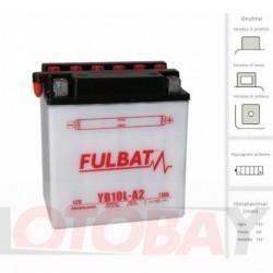 FULBAT YB10L-A2 akumuliatorius