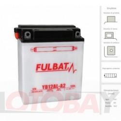 FULBAT YB12AL-A2 akumuliatorius