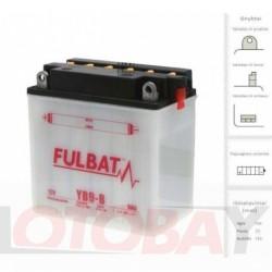 FULBAT YB9-B akumuliatorius