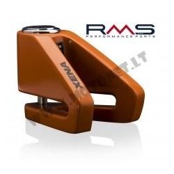 Disc lock 288010011 d6mm , oranžinės spalvos
