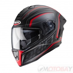 CABERG Drift EVO INTEGRA MATT BLACK/ANTHRACITE/ RED FLUO