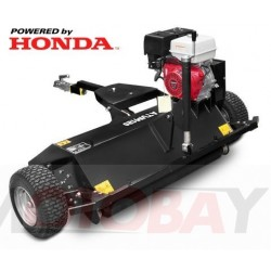 SHARK Accessories ATV mulcher with Honda GX 390 engine, black color