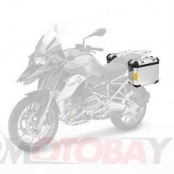 SIKKIA MOTO ALUMINUM BOXES SET (2PCS) INCL. MOUNTING KIT, KEYS AND BRACKET FOR BMW, KTM
