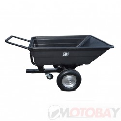 SHARK ATV TRAILER GARDEN 150 BLACK