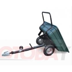SHARK keturračio priekaba/vežimėlis, maksimali apkrova iki 150 kg