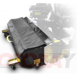 SHARK valymo/šveitimo šepečių valomų šiukšlių prikabinama talpyklą 130l