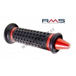 Hand grips 184160330 black/silver end