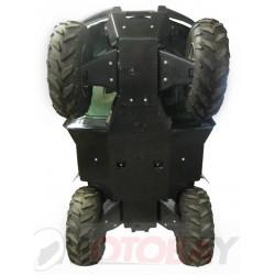 Yamaha Grizzly 450 (2009-2010) IRON BALTIC plastikinė dugno apsauga keturračiui