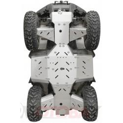Kymco MXU 700 IRON BALTIC aliuminio dugno apsauga keturračiui